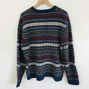 American Eagle Outfitters Sweaters - American Eagle Vintage Nordic Lambswool Sweater